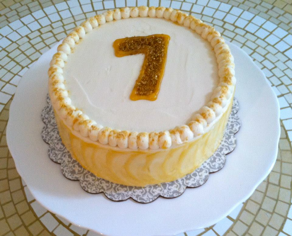 7th birthday cake