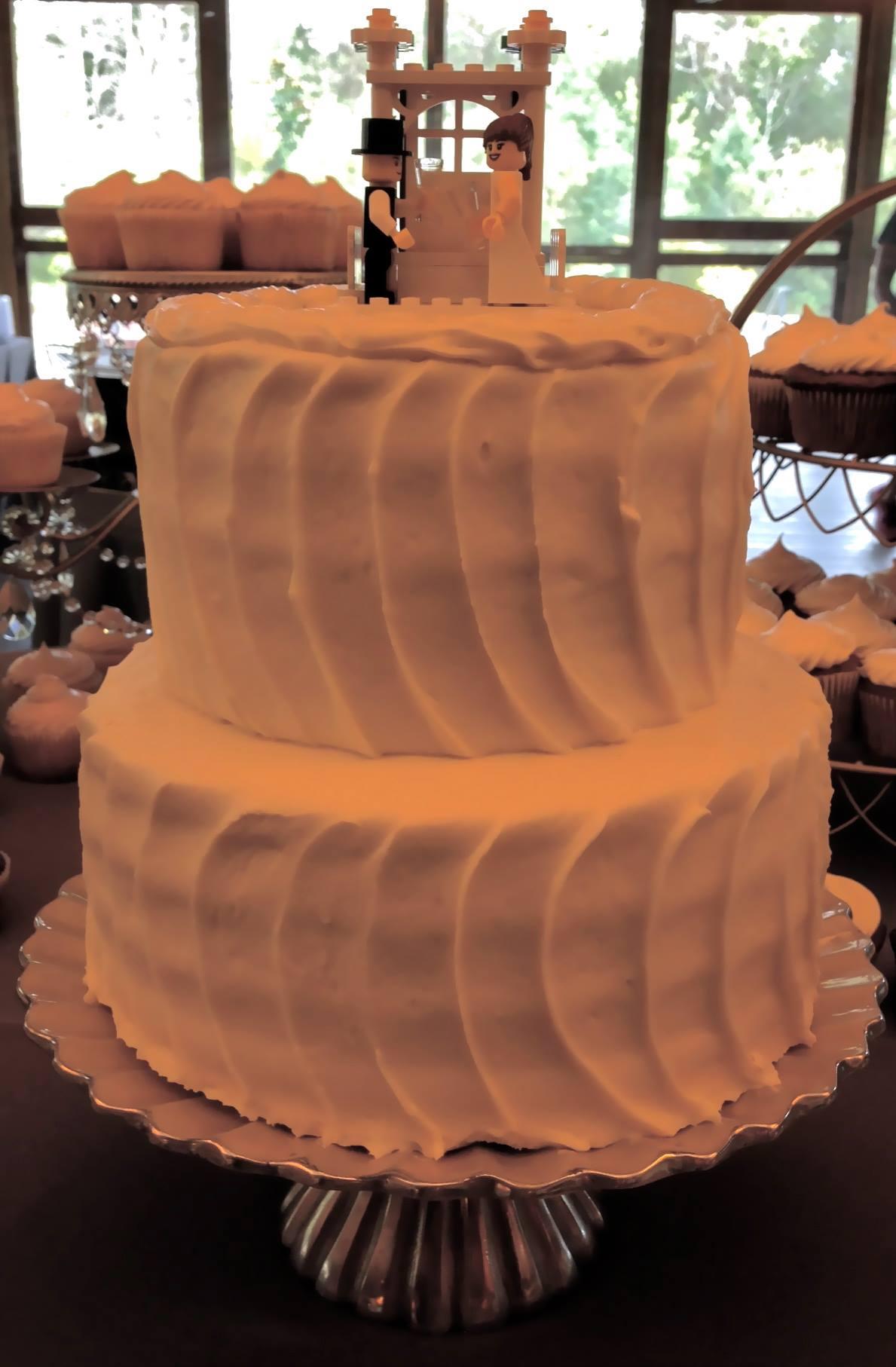Jessica & Dave's Wedding Cake